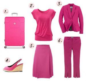 Herfstkleuren, fruit dove roze kleren en outfits