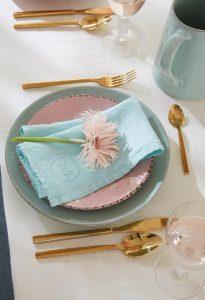 Servies; bestek, borden en glazen