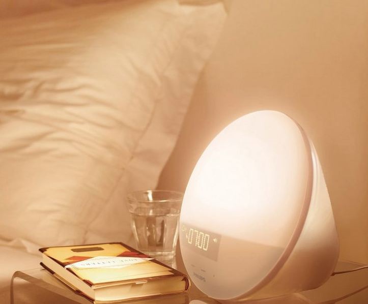 Gadget wake-up light