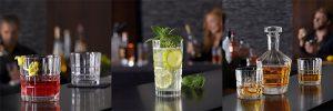 Meerdere soorten drankjes voor aan de bar