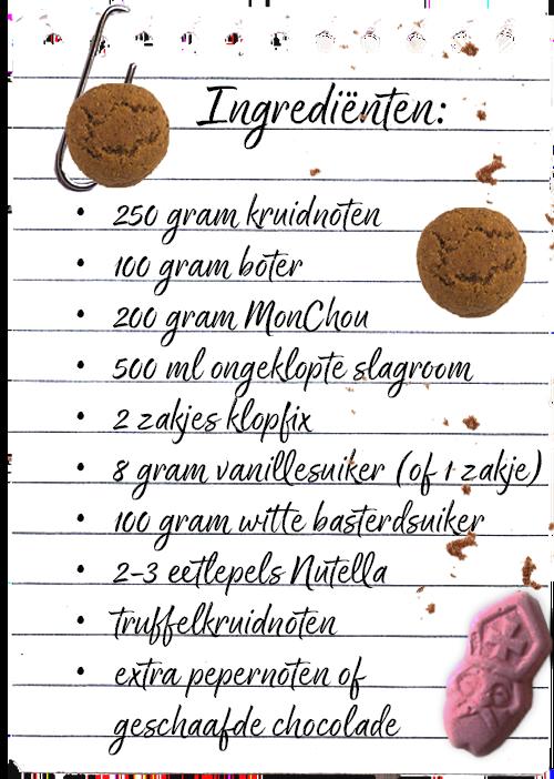 Ingredienten pepernoten recept