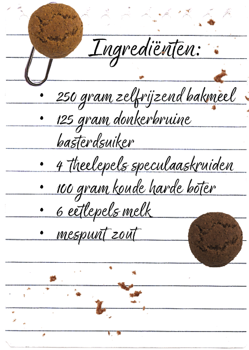 Ingredienten pepernoten recept