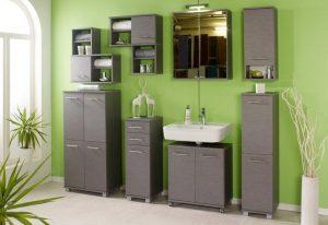 Groene badkamer