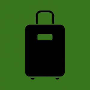 Icoon koffer stedentrip