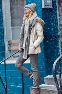 Winterjas, warm, sneeuw, winteroutfit