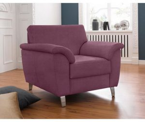 Roze paars fauteuil