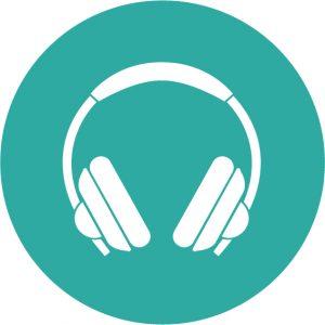 Icoon muziek sporten
