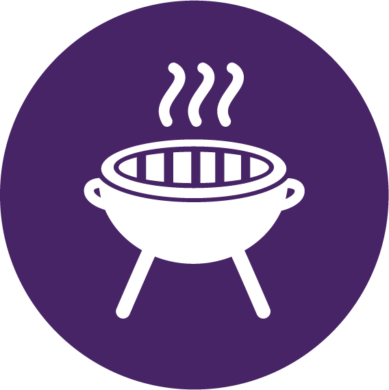 Winterbarbecue barbecue