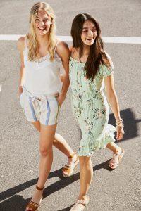 Modetrends: korte broek strepen