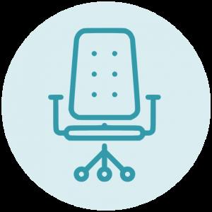 Bureaustoel icoon