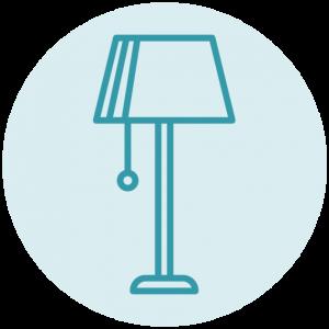 Bureaulamp icoon