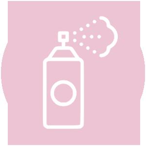 Icoon deodorant fles