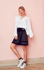 modetrend: Blouse met pofmouwen