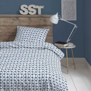 dekbedovertrek stipjes slaapkamer