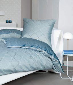 Slaapkamer blauw dekbedovertrek