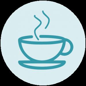 Koffiekop icoon
