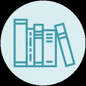 Icoon stapel boeken