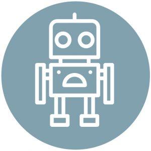 Icoon robotje