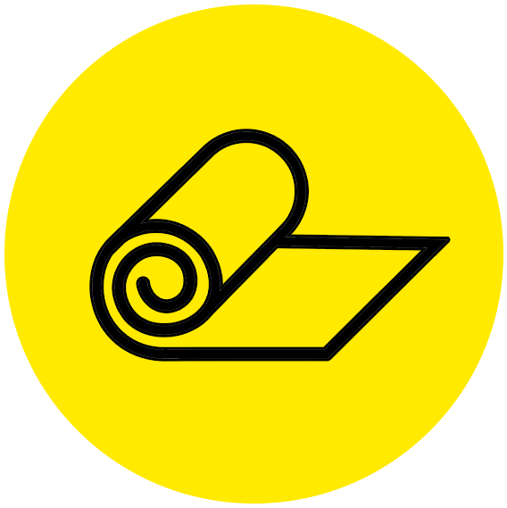 icoon buitenkleed geel