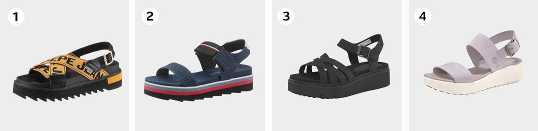 Voorbeeld chunky sandals zomerschoenen