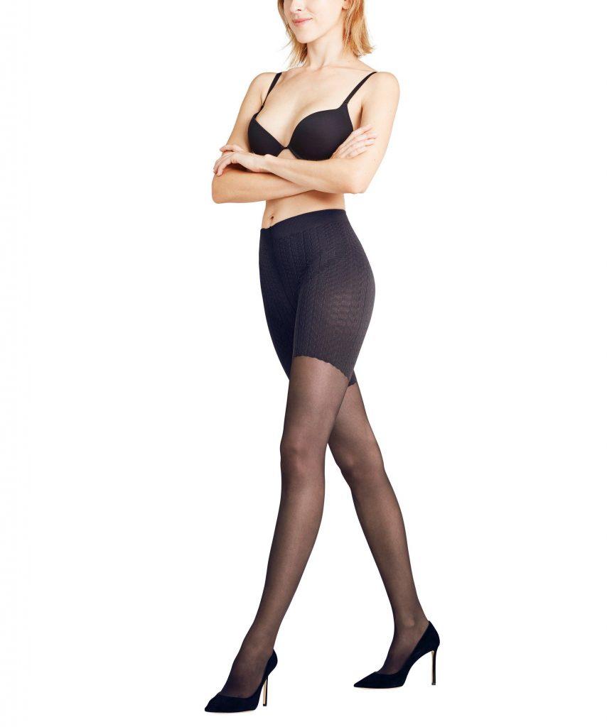 vrouw in panty