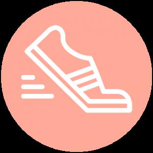 Icoon wandelschoenen