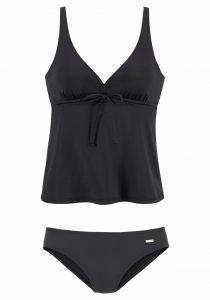 Zwarte bikini top en bikini broek
