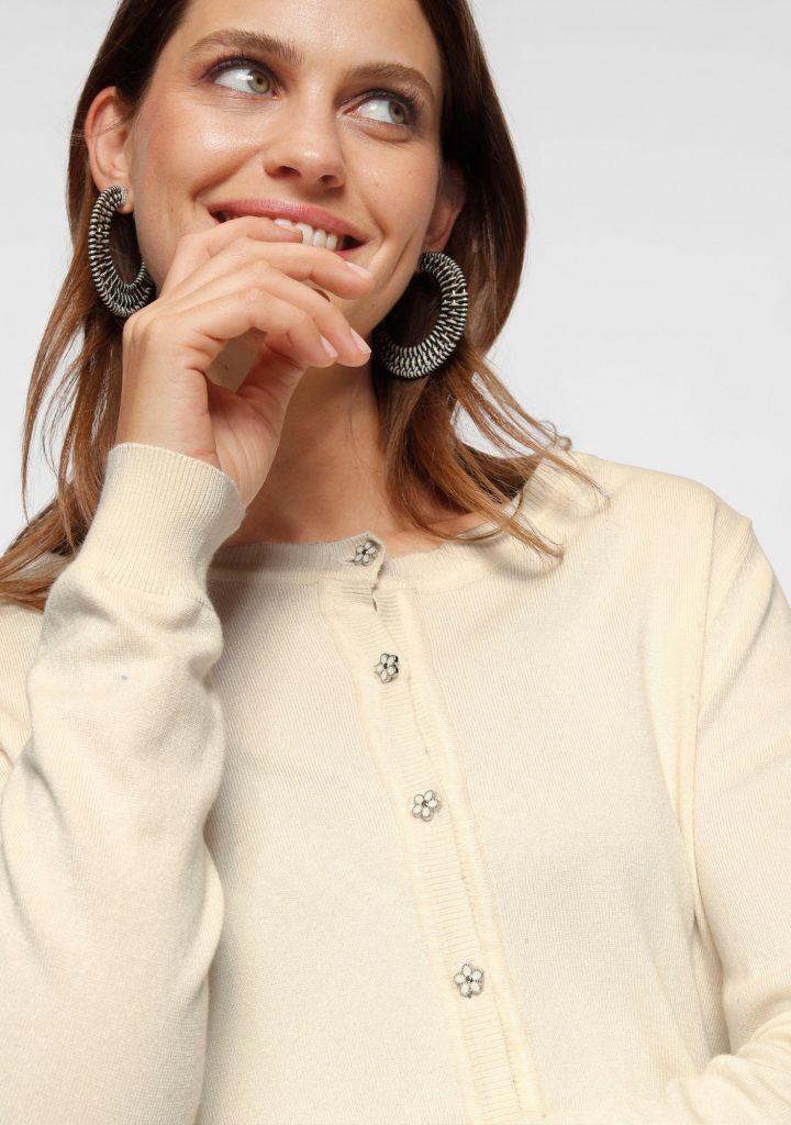 Laura Scott vest beige