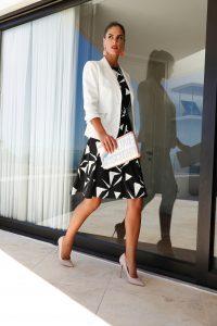 Witte blazer