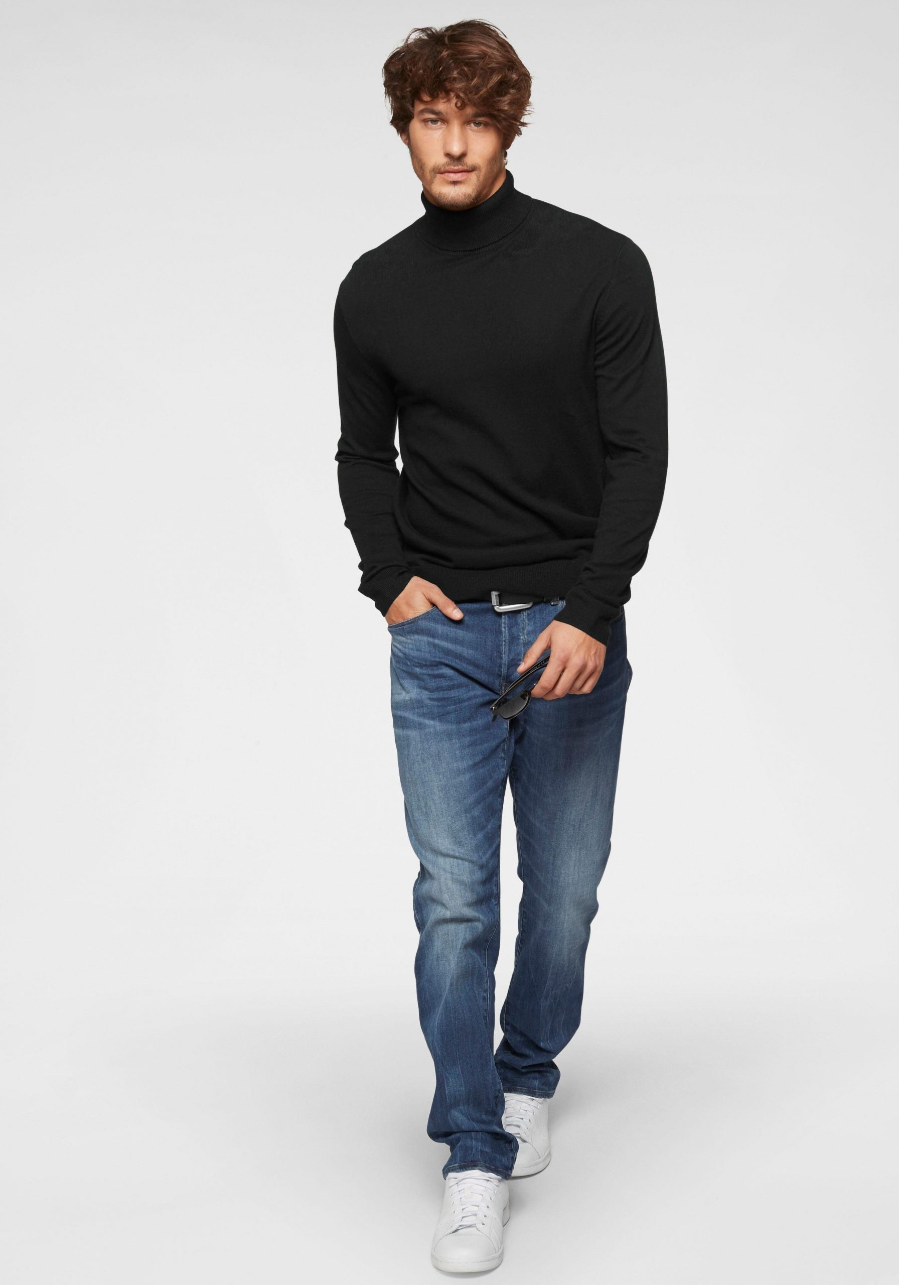 Casual outfit coltrui zwart