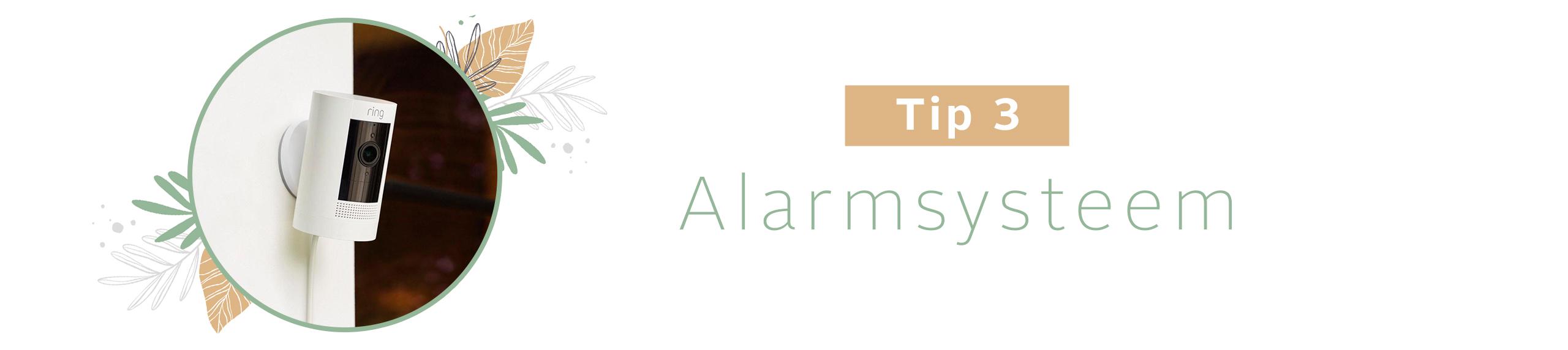 Alarmsysteem huis beveiligen