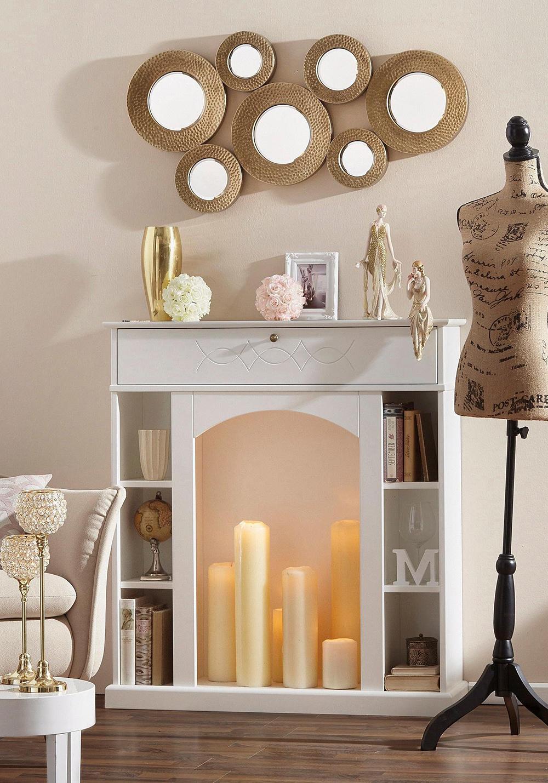 Home Affaire wanddecoratie spiegel goud