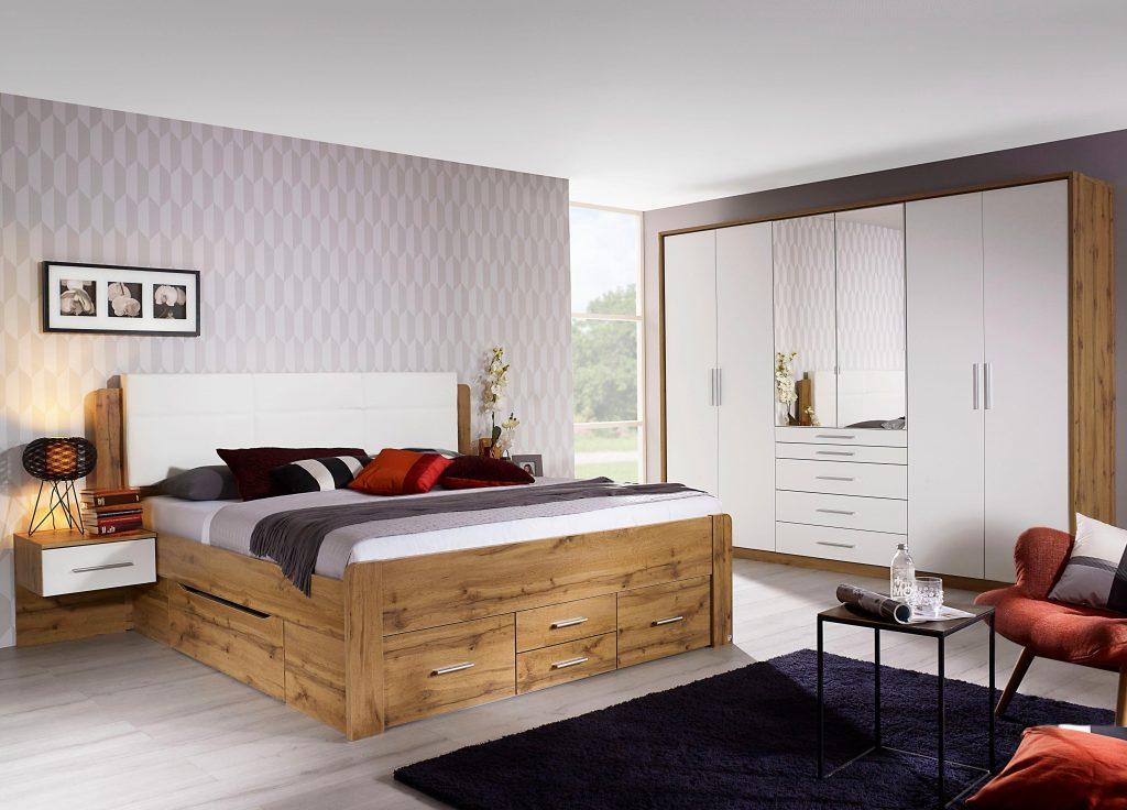 Slaapkamer houten bedden trends