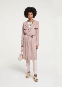 Trenchcoat zomerjas roze