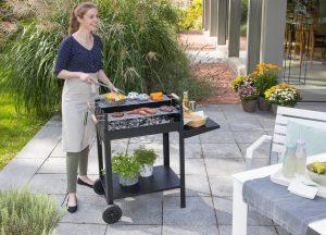 Tuin barbecue