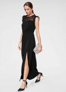 Maxi-jurk zwart classy