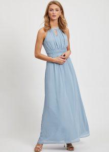 Maxi-jurk lichtblauw