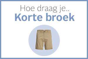 Heren: Hoe draag je de korte broek