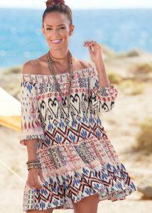 Strand outfits: kort zomerjurkje
