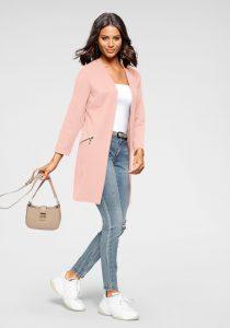 Roze blazer