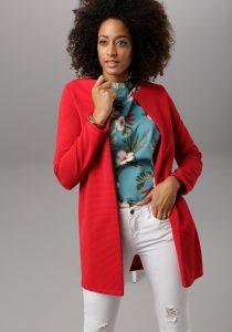 Lange rode blazer
