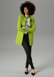 Groene dames blazer