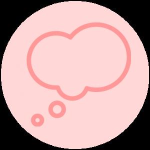 Icon vooruit denken