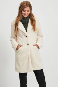 Najaarstrends witte jas