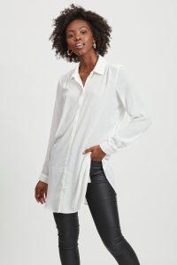 Witte blouse najaarstrends